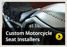 Butt Buffer custom motorcycle seat installers